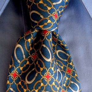 FENDI MENS STUNNING TIE 100% SILK MADE IN ITALY